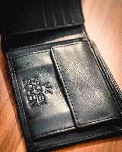 Kronenschein Geldtaschen Innenleben